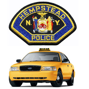 Taxi Cab Collides With Pedestrian