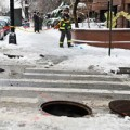 Two People Injured in Brooklyn Manhole Explosion